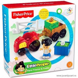 FISHER-PRICE: LITTLE PEOPLE FERMA - TRACTOR
